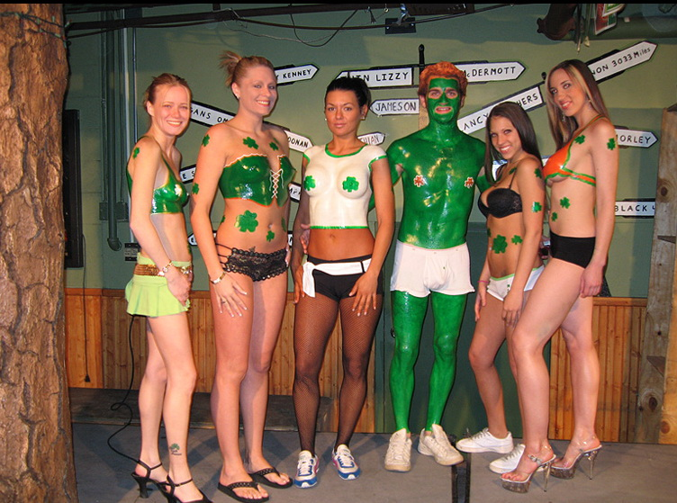 Liquid Latex Fashions St. Patrick's Day Body Paint Kit