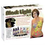 Black Light  Liquid Latex Kits