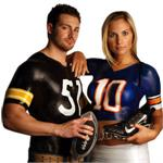 NFL Liquid Latex Body Paint Kits