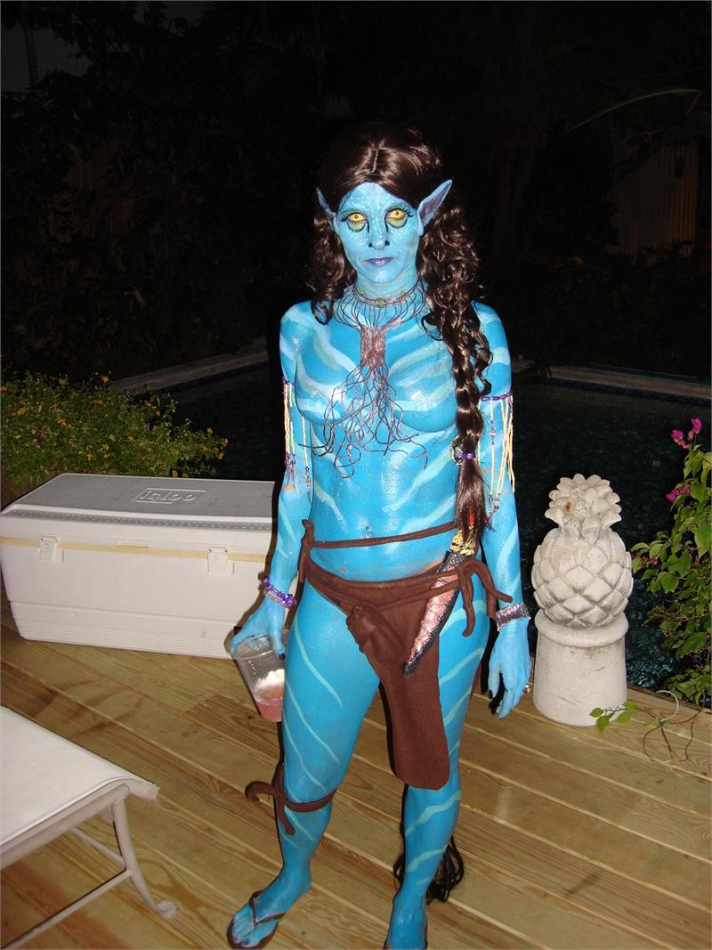 Liquid Latex Body Paint Avatar Costume Kit Halloween 2010 Best Seller