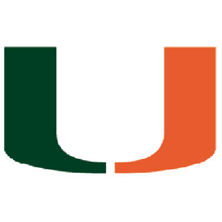 The miami hurricanes symbol free coloring pages for University of miami coloring pages