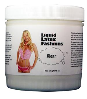 Clear Liquid Latex Body Paint