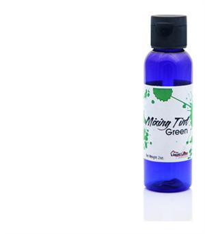 Liquid Latex Body Paint Green Mixing Tint - 2 oz