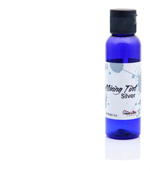 Liquid Latex Body Paint Silver Mixing Tint - 2 oz