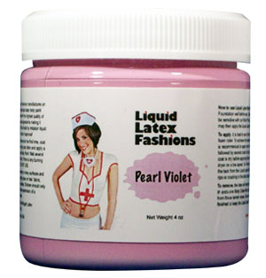 Pearl Purple Liquid Latex Body Paint - 8 oz