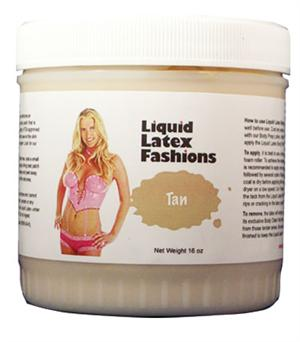 Tan Liquid Latex Body Paint - 32 oz