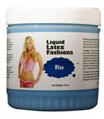 Blue Liquid Latex Body Paint -  1 gallon