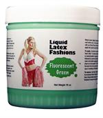 Fluorescent Green Liquid Latex Body Paint