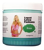 Green Liquid Latex Body Paint -  1 gallon