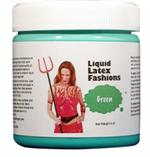 Green Liquid Latex Body Paint - 8 oz