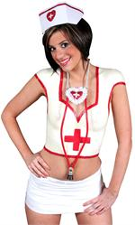 Liquid Latex Body Paint Costume Kit - Sexy Nurse