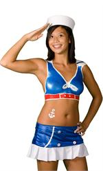Liquid Latex Body Paint Costume Kit - Sexy Sailor