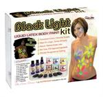 Liquid Latex Black Light Face & Body Paint
