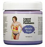 Metallic Purple Liquid Latex Body Paint - 8 oz