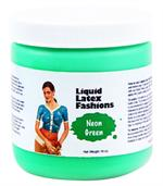 Neon Green Liquid Latex Body Paint - 16oz