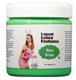 Neon Green Liquid Latex Body Paint - 32 oz