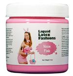 Neon Pink Liquid Latex Body Paint - 4 oz