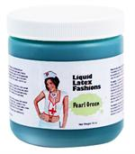Pearl Green Liquid Latex Body Paint - 16oz