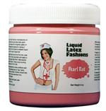 Pearl Red Liquid Latex Body Paint - 8 oz