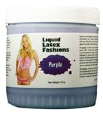 Purple Liquid Latex Body Paint -  1 gallon
